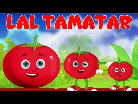 Lal Tamatar Poem   Hindi Rhymes For Children   लाल टमाटर   Kids Tv India   Hindi Nursery Rhymes