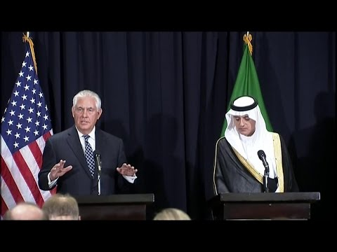 Remarks With Saudi Foreign Minister Adel al-Jubeir at a Pres