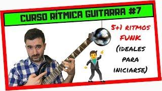 ¡FUNK tutorial GUITARRA! 🎸 5+1 RITMOS de FUNK para GUITARRA (¡fácil y divertido!) 🤣