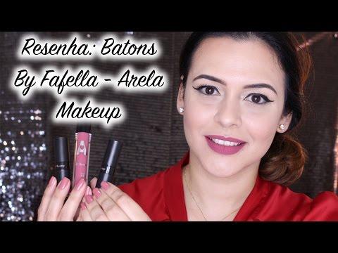 Resenha: Batons By Fafella - Arela Makeup