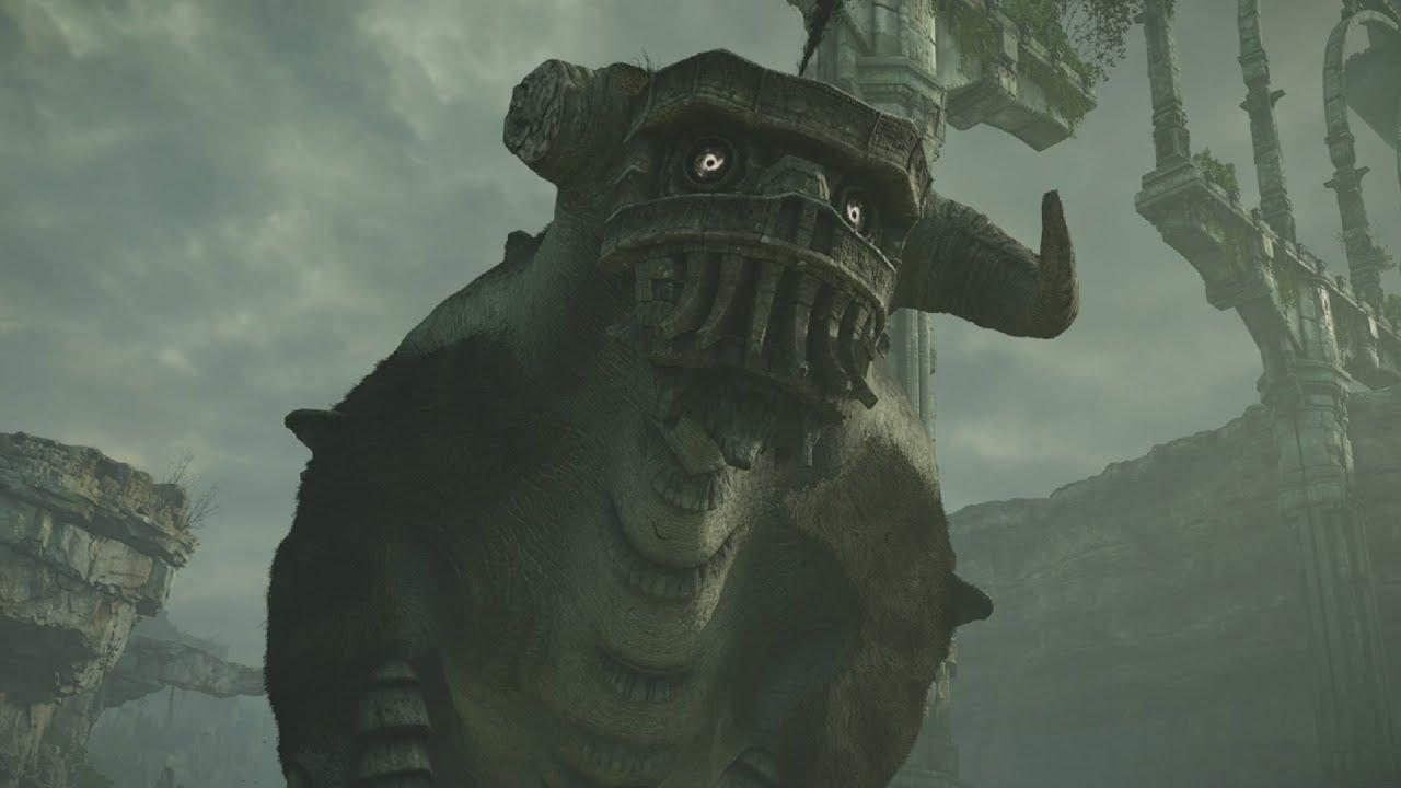 Shadow Of The Colossus PS4 2 Quadratus Boss Fight