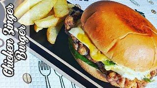 Crispy Chicken Zinger Burger Recipe | Zinger Burger | Chicken Burger | Tasty Recipe
