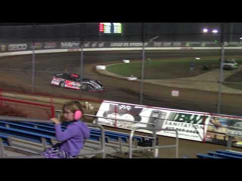 Lucas Oil Speedway Late Model Heat 2 10/6/17