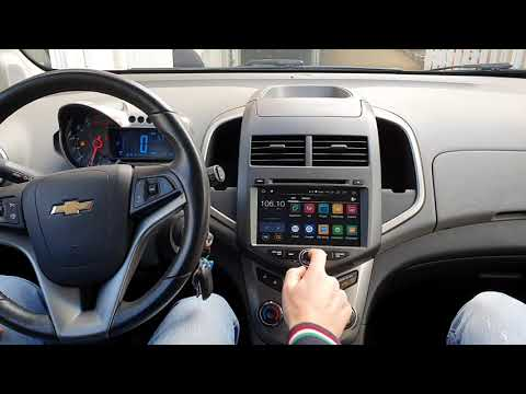 Chevrolet Aveo Car Tablet Android 9 Ram4gb Rom32gb