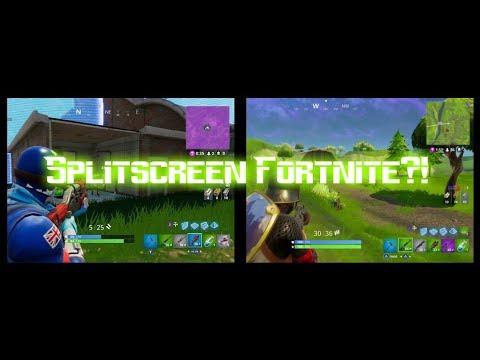 How To Play Split Screen On Fortnite Xbox | V Bucks Hack ...