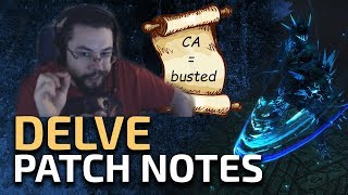 Delve Patch Notes! - First reactions and discussion