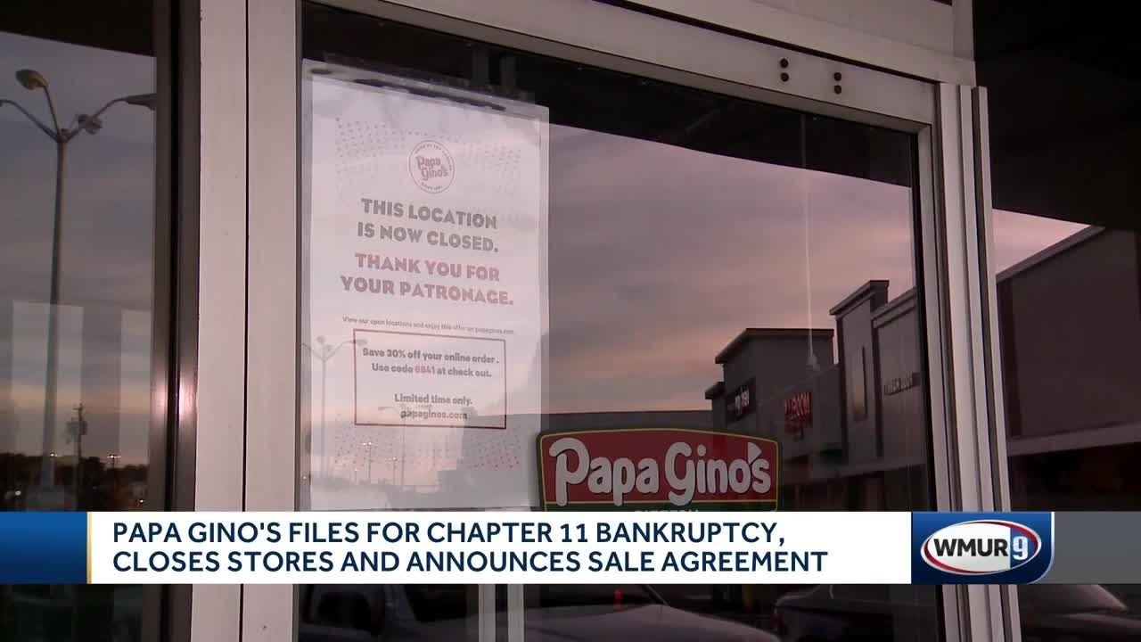 Papa Gino's files for Chapter 11 bankruptcy