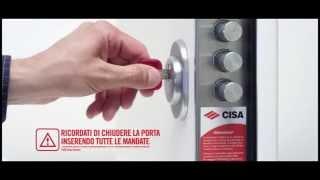 Замок Cisa Revolution Pro(, 2013-10-21T08:26:35.000Z)