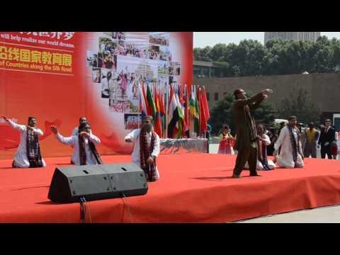 Sindhi Cultural dance at International Cultural Festival XJTU China