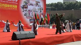 Sindhi Cultural dance at International Cultural Festival XJTU China