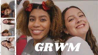 GRWM ft. thatsokirsten *to make tiktoks*