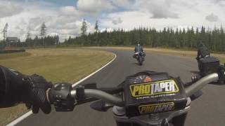 Chasing frank at the Ridge Motorsports Park with the Motofit Group