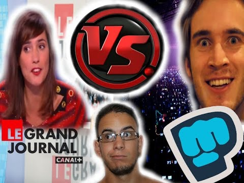 Canal+ | Le grand Journal | Twitch | La communauté réagit!!! HD