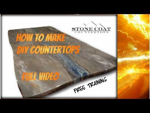 Stone Coat  Countertops Uncut Training