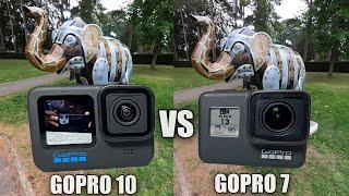 GoPro Hero 10 vs GoPro Hero 7 - Action Camera Comparison - Should you Upgrade?