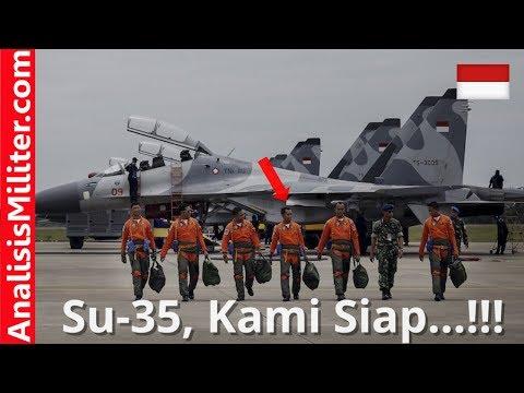Sambut Jet Tempur SU-35, Militer Indonesia Kirim Pilot dan Teknisi Ke Rusia