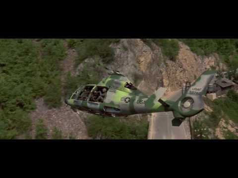 The Peacemaker 1997 - USAF Helicopter Scene HD