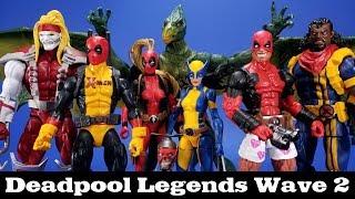 Marvel Legends Deadpool Sauron Wave Review Hasbro