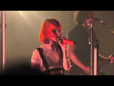 Hate to See Your Heart Break - Paramore @ Bell Auditorium, Augusta - April 27, 2015