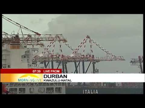 Transport Minister Joe Maswanganyi on Maritime transport