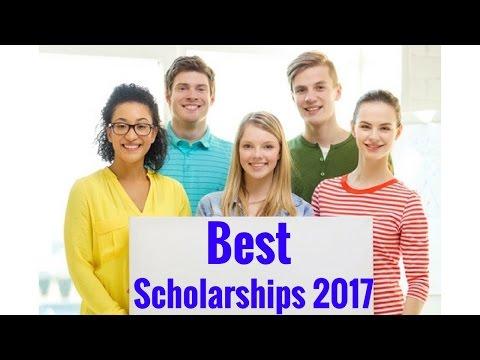 Best Scholarships 2017- 2018