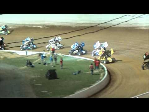 AJ Flick 410 Sprint Port Royal Speedway June 17, 2017