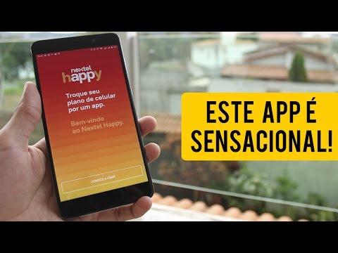 Nextel Happy - Conheça o app que vai REVOLUCIONAR internet e ligações nos smartphones!