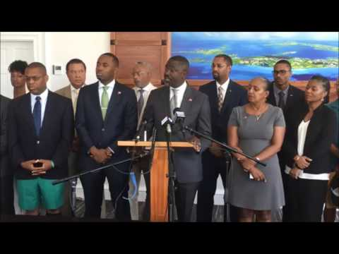 Minister Wayne Caines On Anti-Crime Initiatives, Aug 8 2017