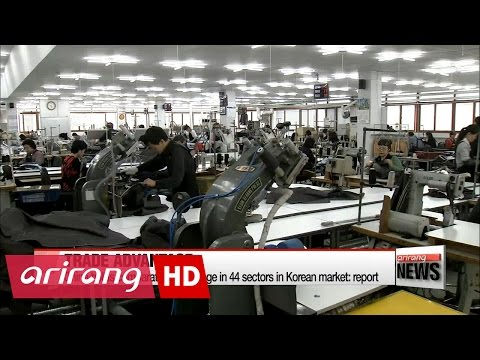 China holds comparative advantage in 44 sectors in Korean market: report
