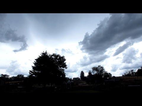 Moroni, Utah Thunderstorm Timelapse (8/2/2015)