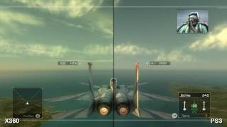 HAWX PS3 Xbox 360 Comparison Video