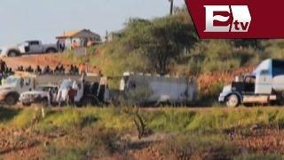 Enfrentamiento en mina de Cananea, Sonora/ Vianey Esquinca