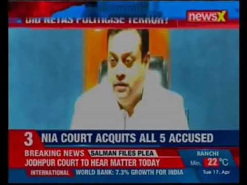 NIA court acquits all 5 accused in Mecca case; detailed verdict to be out in 15 days