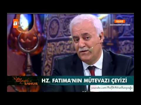 Sahur Özel Hz. Fatıma (03-07-2014) Perşembe Nihat Hatipoğlu-