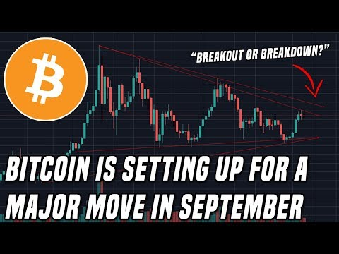 Bitcoin To $20,000 Or $6,000?   September Is The Month To Watch!