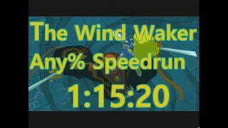 The Wind Waker Any% Speedrun in 1:15:20