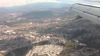 Aterrizaje en Toncontín, Tegucigalpa - Toncontin Landing
