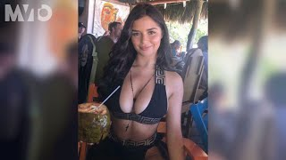 Demi Rose asoleó sus curvas en playas mexicanas | The MVTO