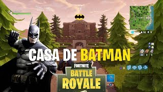 *HIDDEN SECRET* BATMAN HOUSE IN FORTNITE BATTLE ROYALE !! - FORTNITE