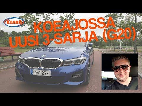 Koeajossa uusi BMW 3-sarja (G20)