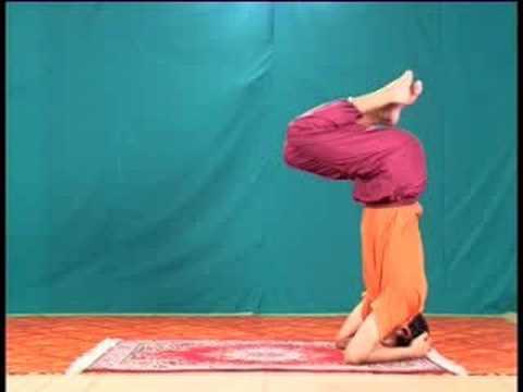 hatha yoga video tutorial  9 ajna chakra set  youtube