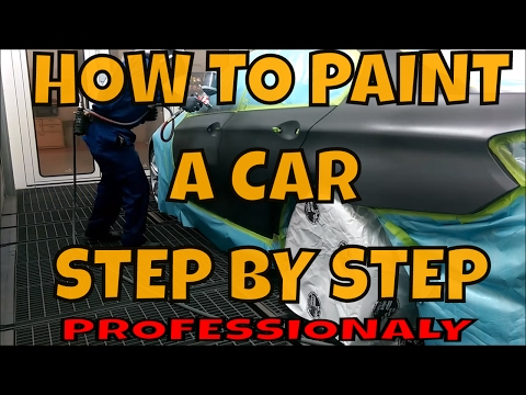 How to Paint and Clear Coat - Step by step (NEW VID LINK IN DESCRIPTION)