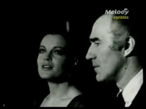 """Romy Schneider  Michel Piccoli """"Sacha Distel Show,  15th April  1970"""""""