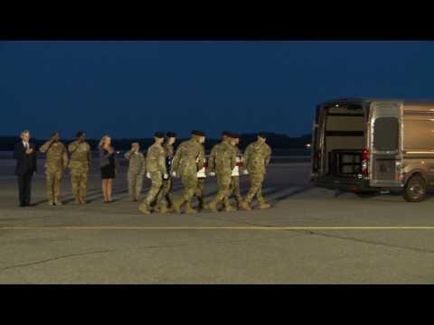 Staff Sgt. Mark R. De Alencar - Dignified Transfer