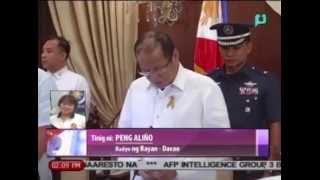 RDC Chair Davao Del Norte Rodolfo Del Rosario, nais din na mapalawig pa ang termino ni PNoy