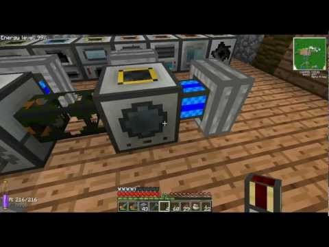 Minecraft FTB Ep. 31: Redstone Energy Cells