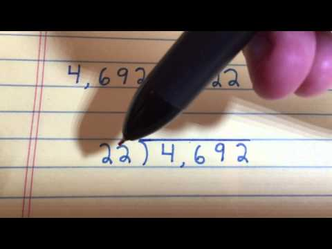 Divide By 2-Digit Divisors