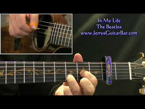 The Beatles - In My Life   Guitar Lesson, Tab & Chords