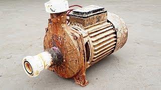 Ancient Mono Block Water Pump RESTORATION