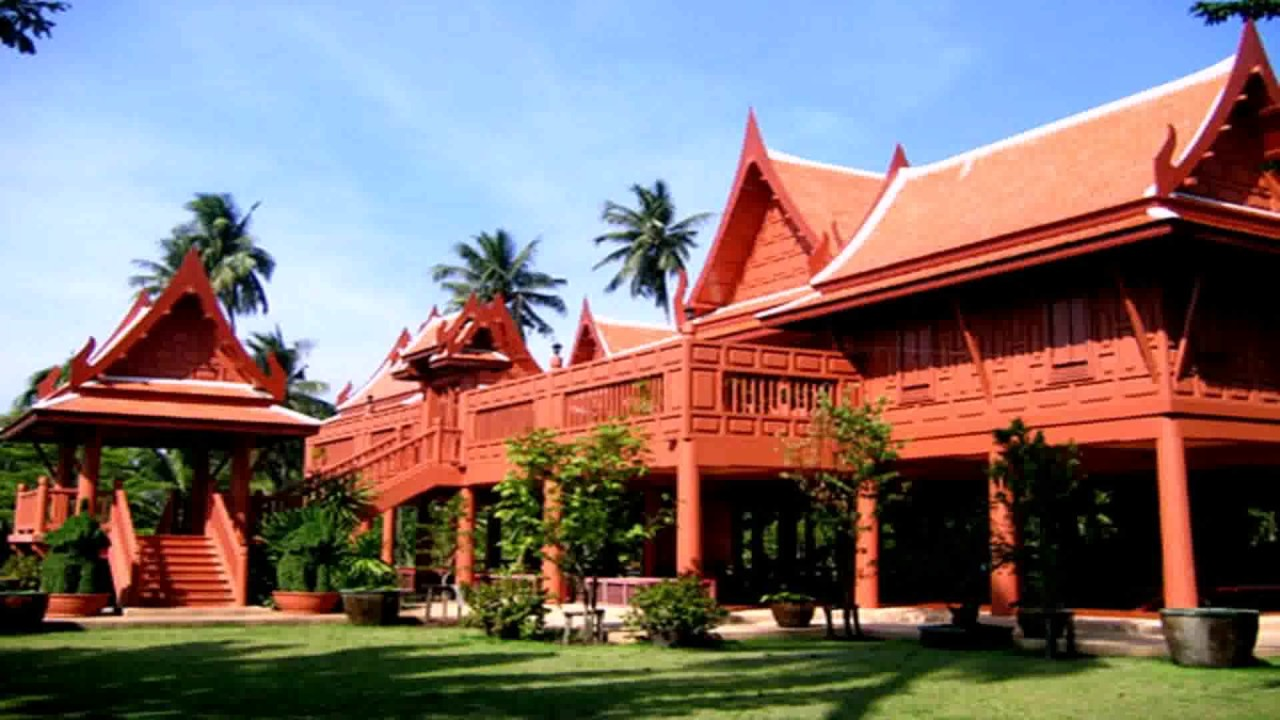 Traditional Thai Style House Plans See Description See